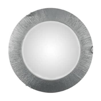 Taklampa Moon Sun, silver, Ø 40 cm
