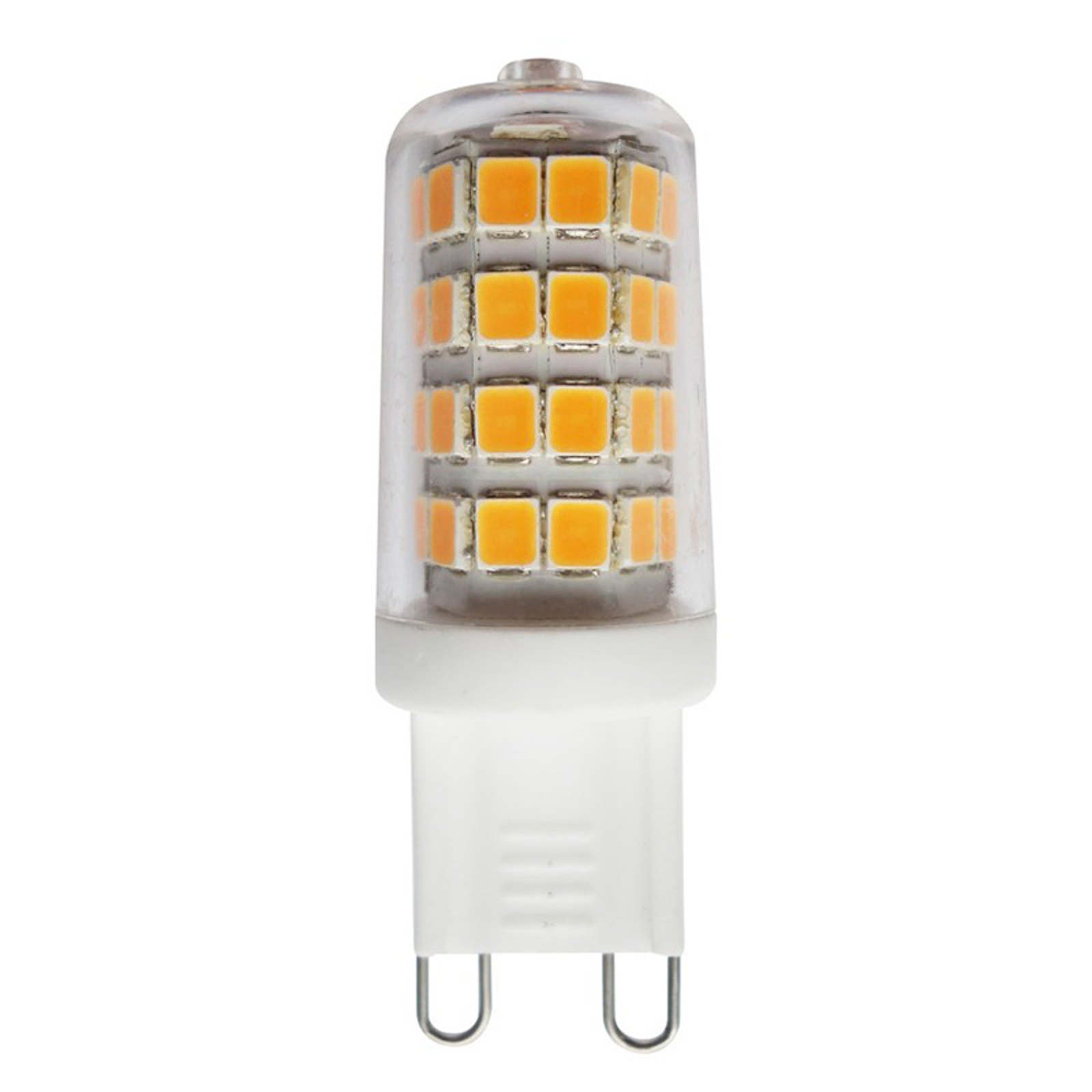 Ampoule à broche LED G9 3W 2700K transparent