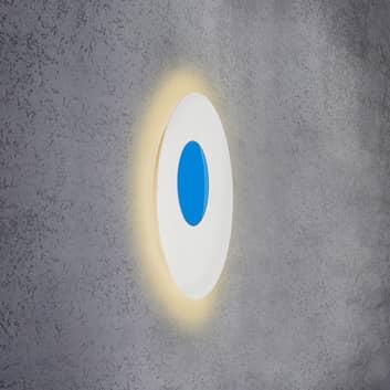 Escale Blade Open LED-vegglampe RGB+W, hvit