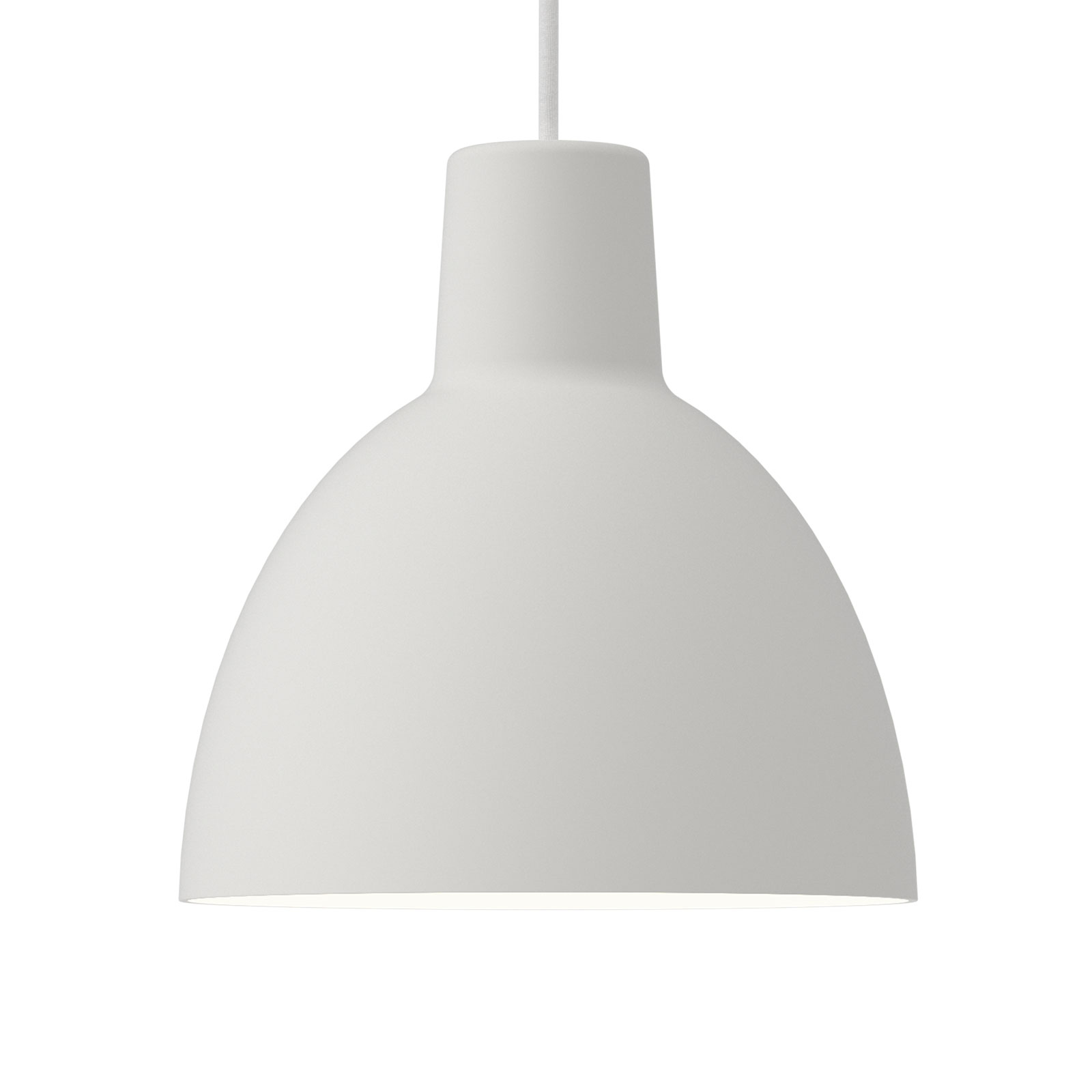 Louis Poulsen hanglamp Toldbod 250 wit