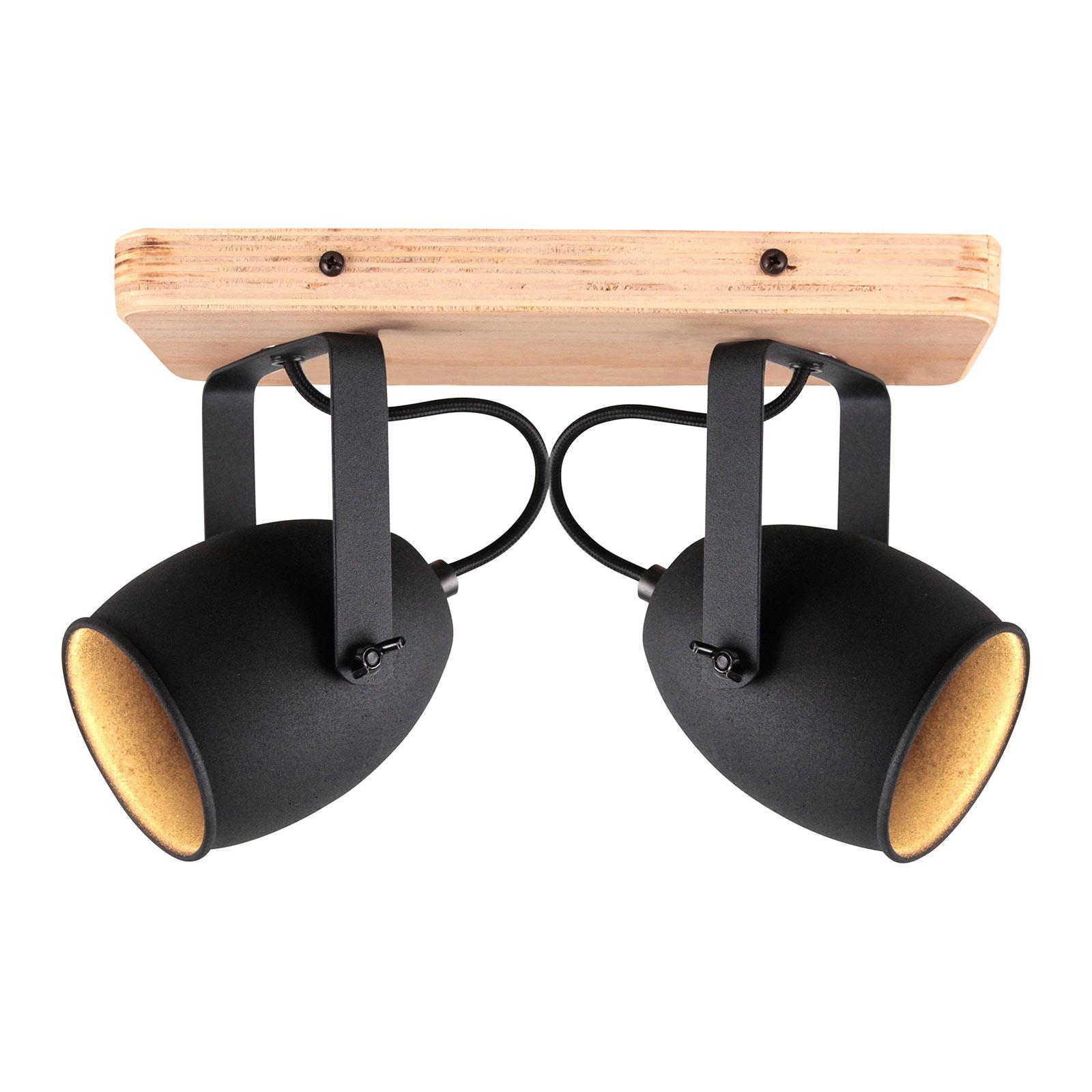 Taklampe Crowton, 2 lyskilder