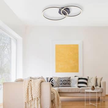 Ivanka LED-taklampe, to ringer, dimbar