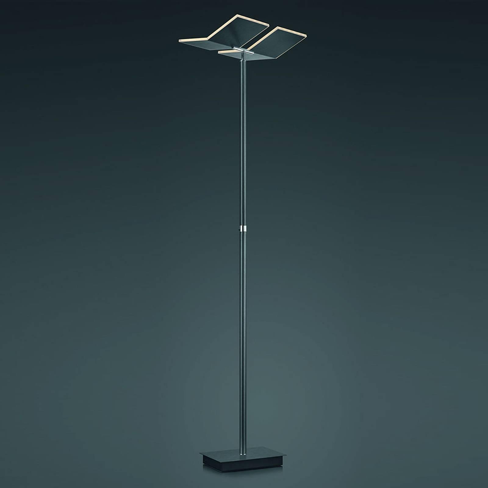 B-Leuchten Domi LED vloerlamp, antraciet