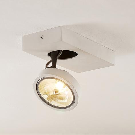 Arcchio Jorvin foco de techo, un luz, blanco