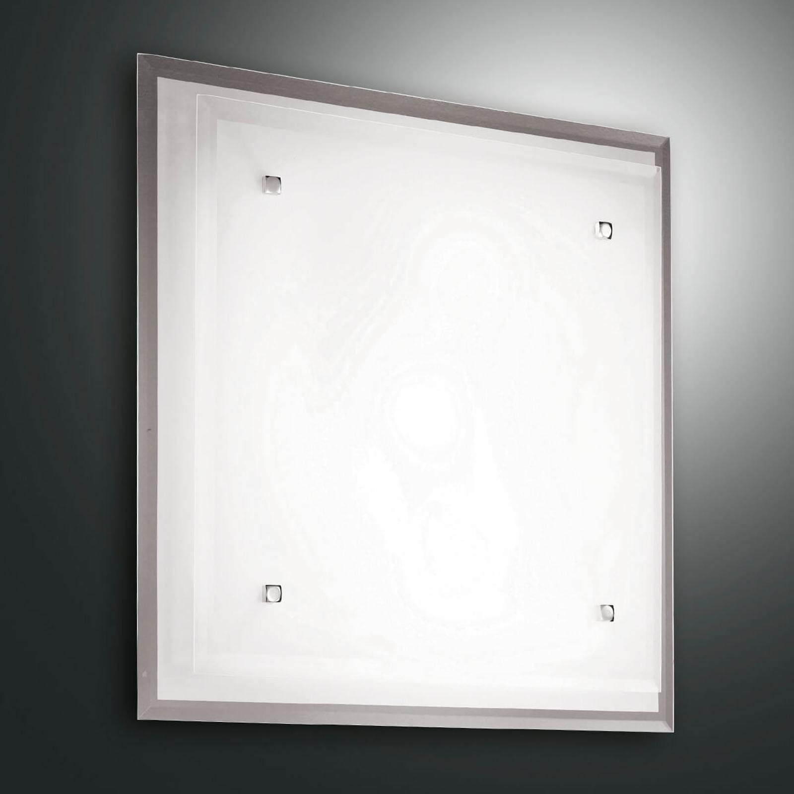 Szklana lampa sufitowa Maggie, 40 x 40 cm