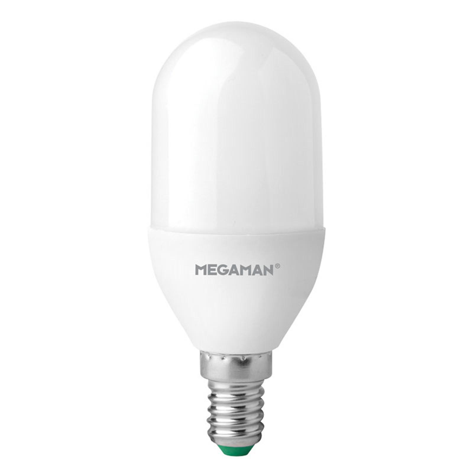 LED-pære kolbe 7W, varmhvid