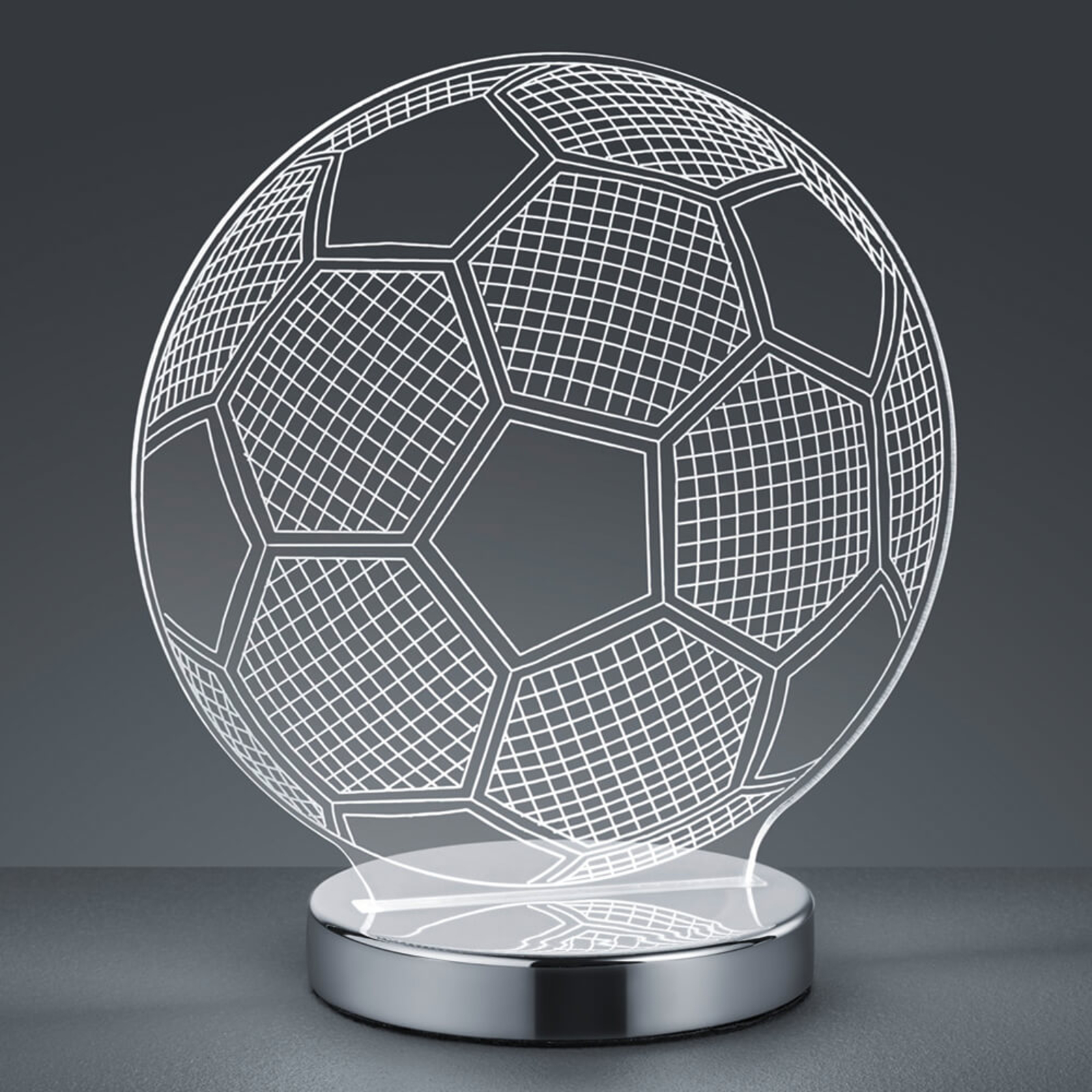 3D-hologrambordslampa Ball - valbar ljustemperatur