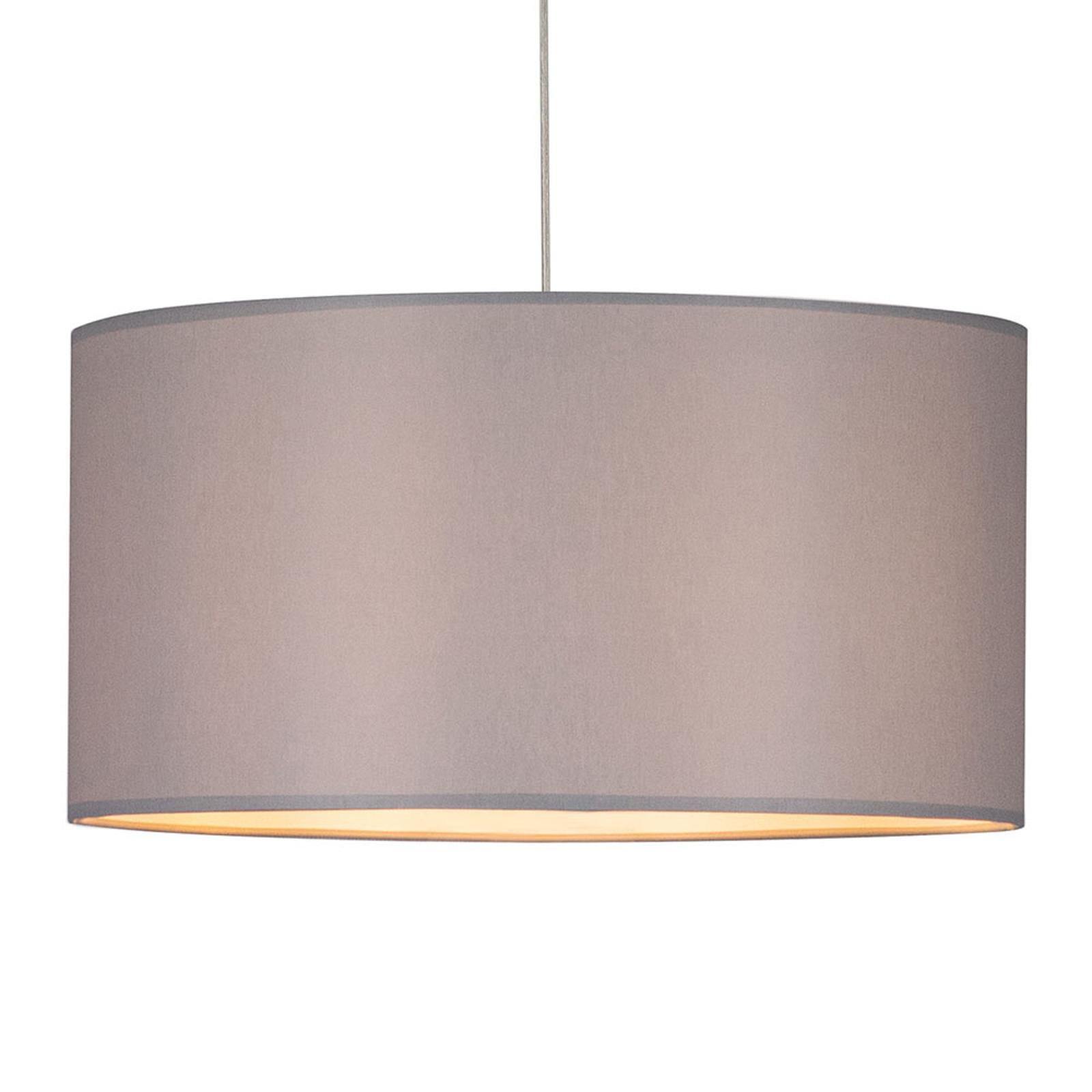Lampa wisząca Corralee, szara, 1-punktowa