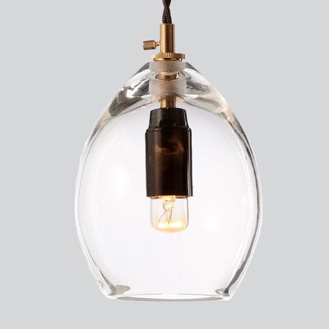 Northern Unika, lámpara colgante de cristal claro