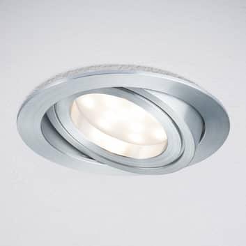 LED-innb.lampe Coin rund IP23 dreid alu 3er-S