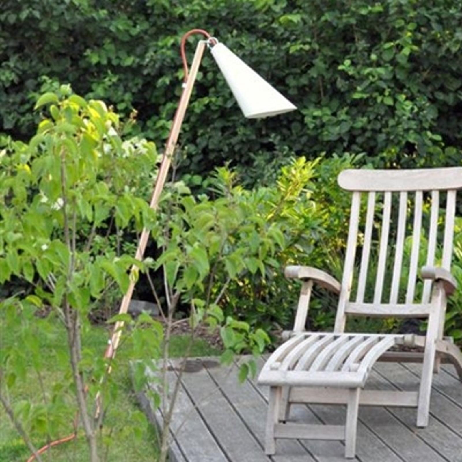 Sfeerlamp Pit Out voor buiten, wit