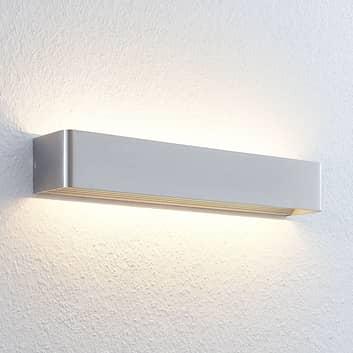 Lampada LED da parete Lonisa color nichel satinato