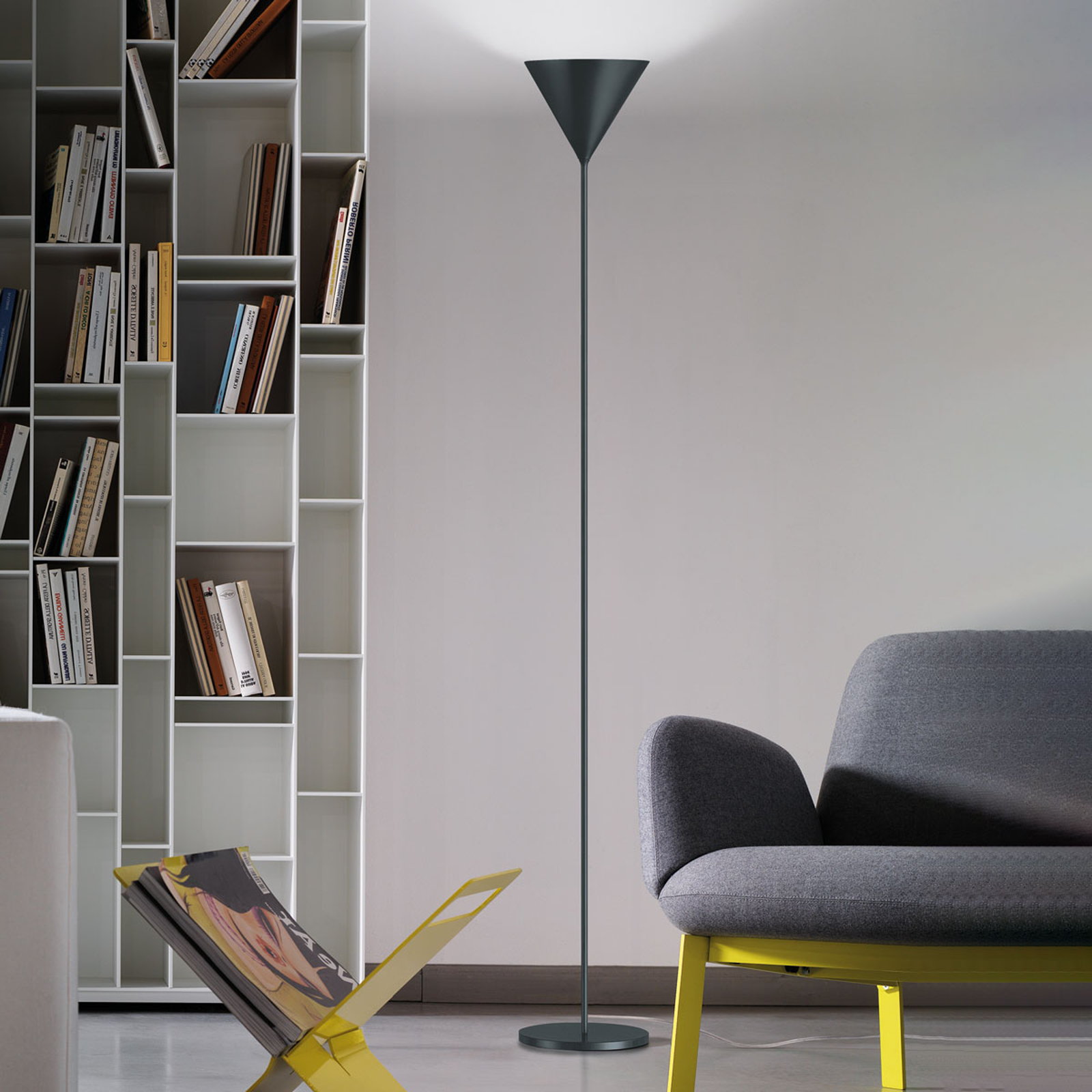 Modo Luce ABC Single golvlampa blygrå