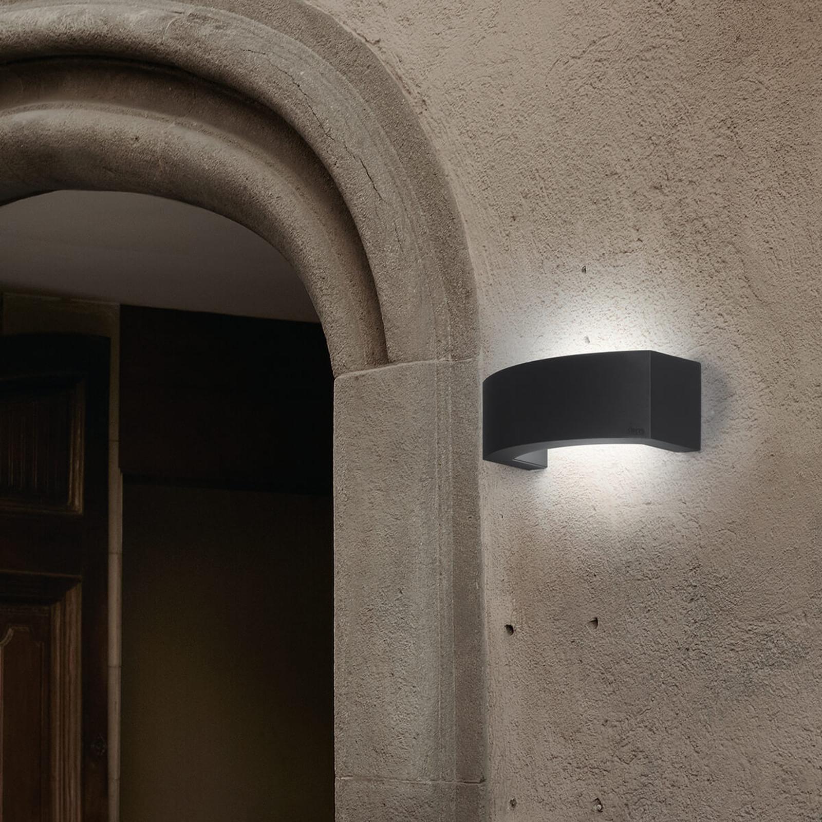 Venkovní nástěnné svítidlo Ancora z hliníku