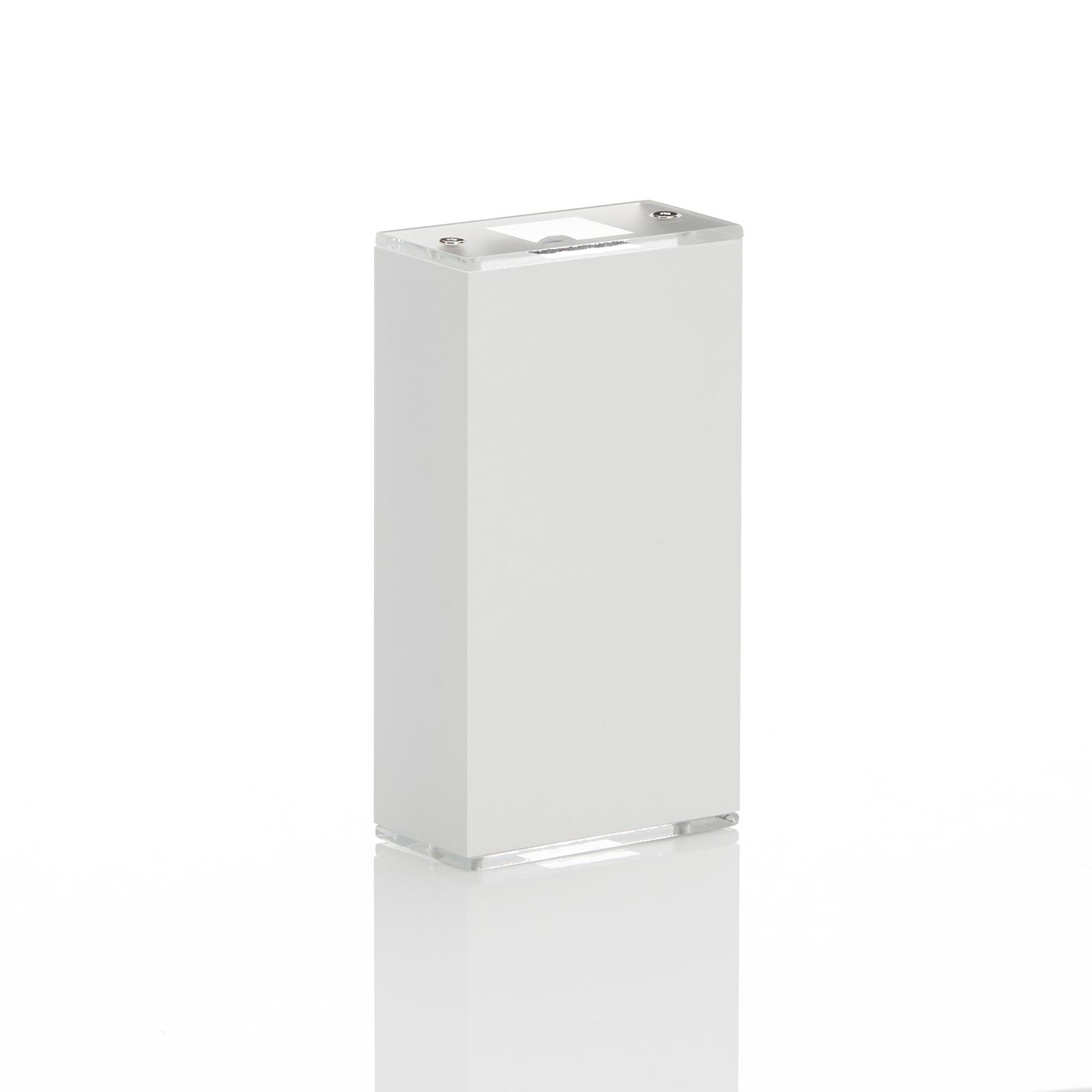 Lucande Anita LED wandlamp wit hoogte 17cm