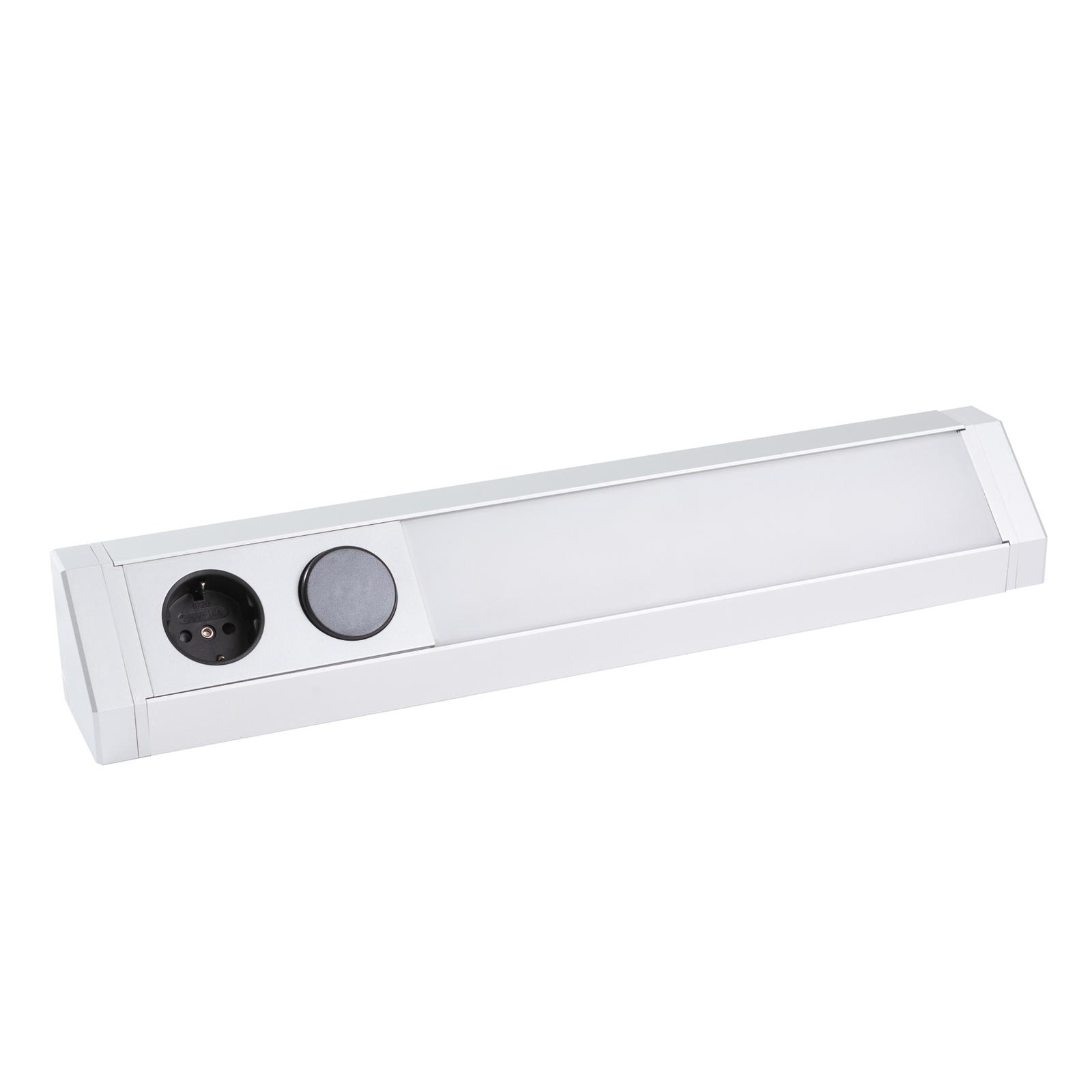 Arcchio Mitari LED-underskabsbelysning, sølv