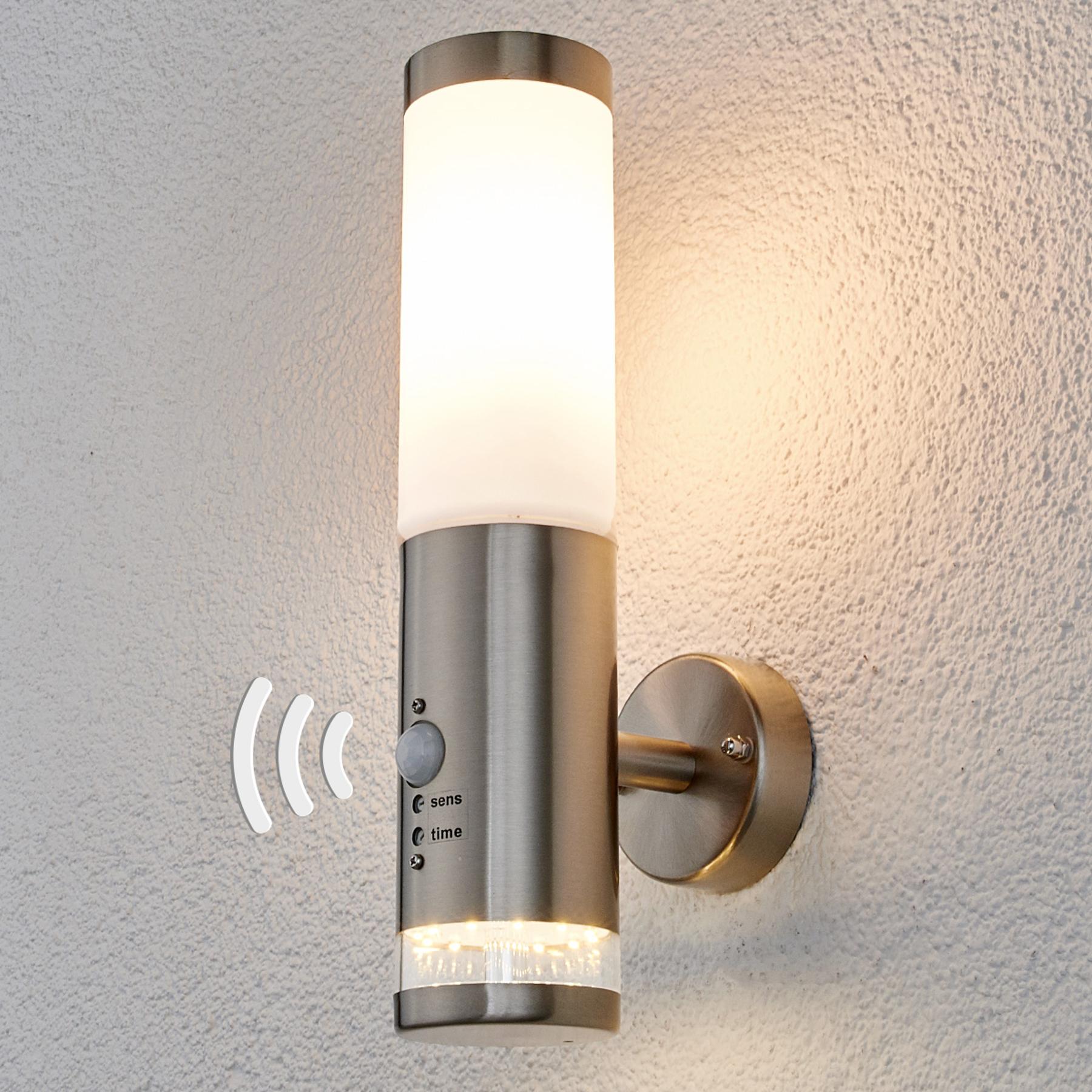 Buitenwandlamp Binka met sensor