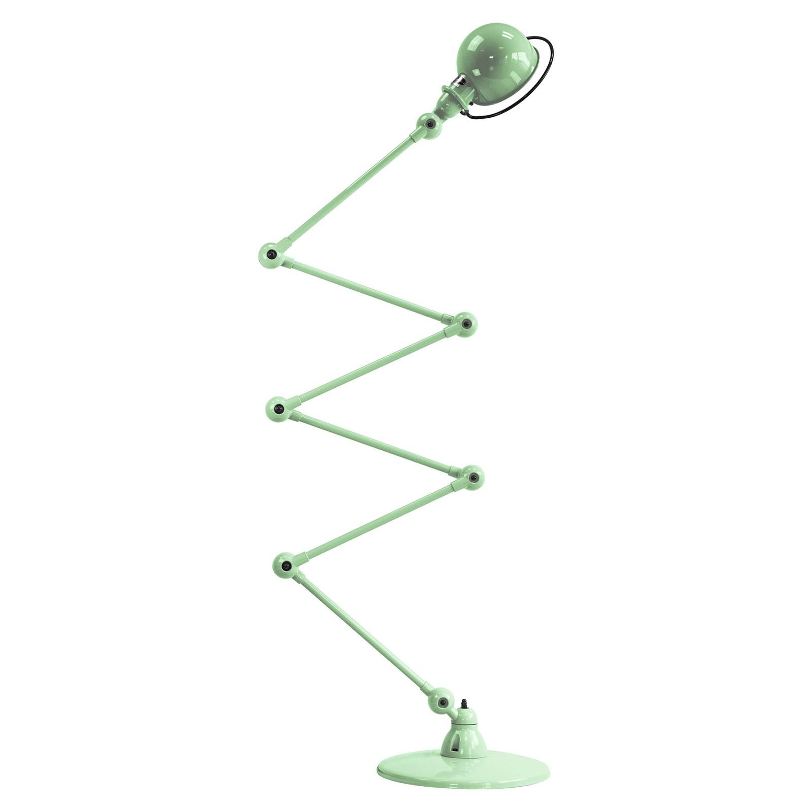 Jieldé Loft D9406 vloerlamp 6x40cm, mintgroen