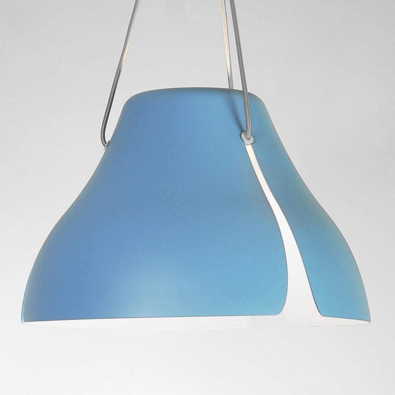 LED-Pendellampe Ginkgo S40 40 cm blau