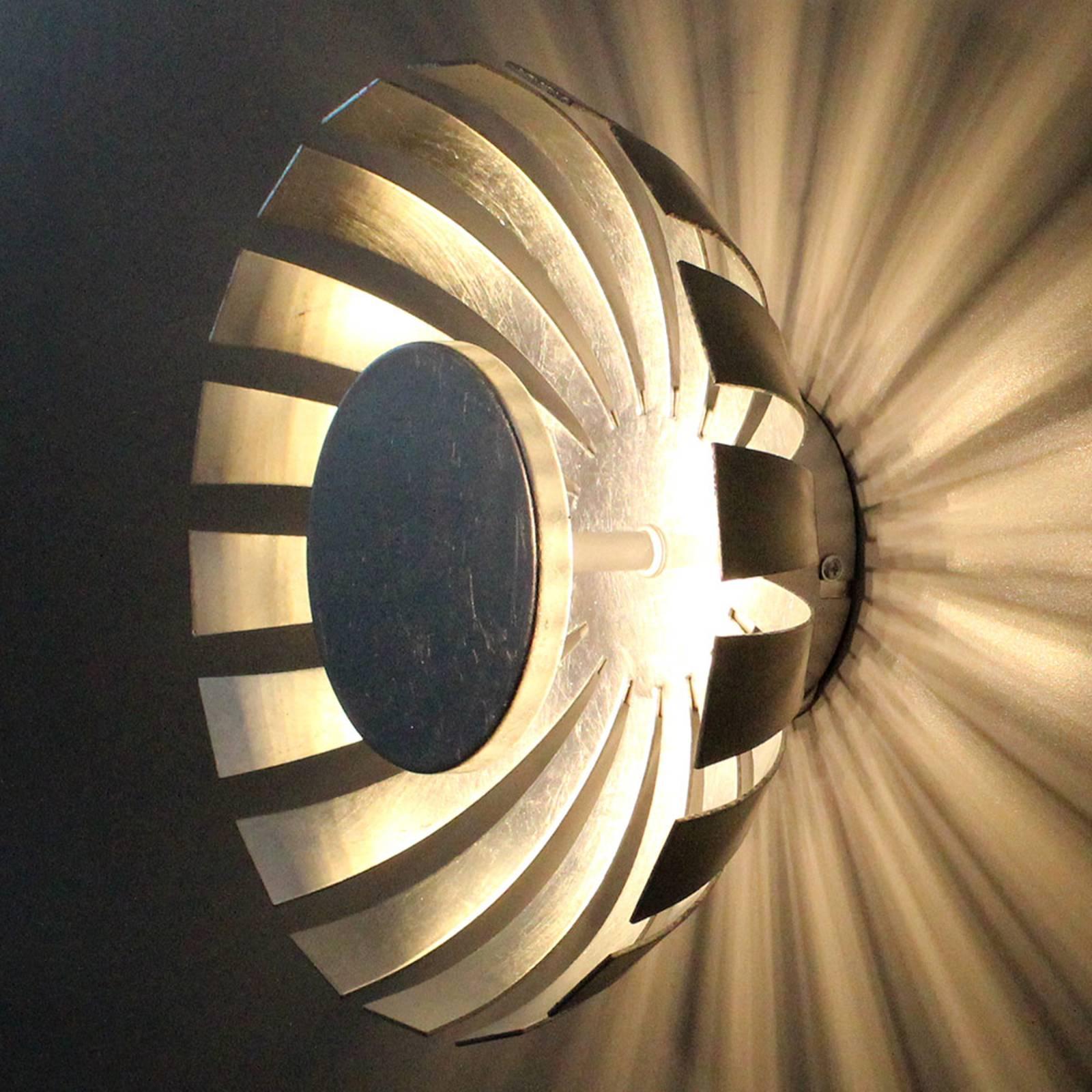 Applique LED Flare Medium, argenté