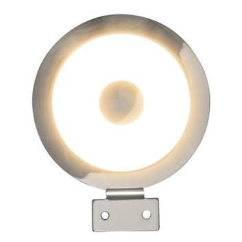 Rund LED-spejllampe Tondo
