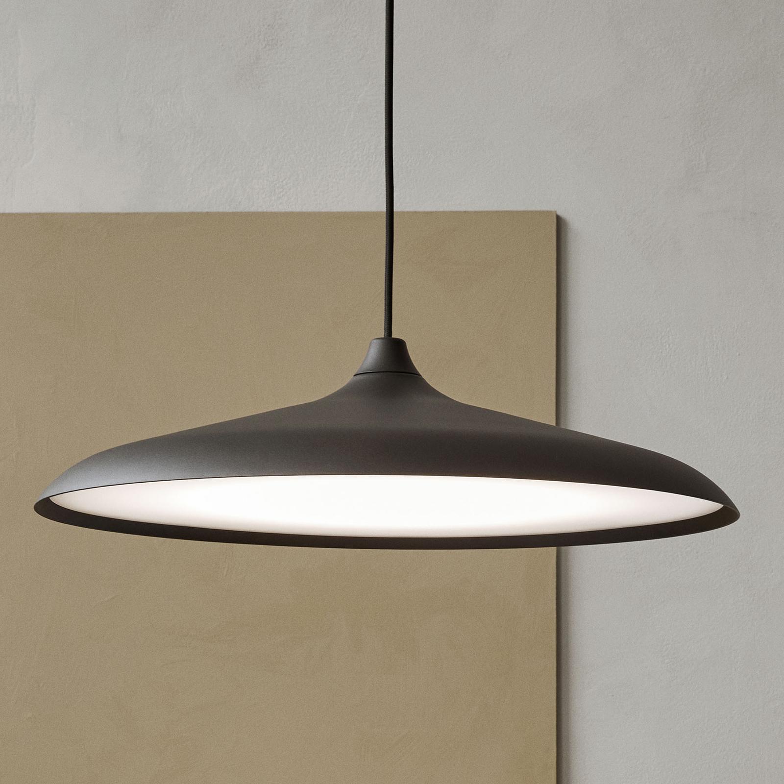 Menu Circular Lamp suspension LED, noire
