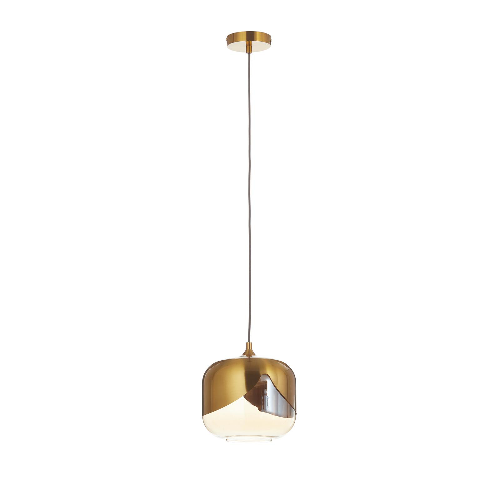KARE Golden Goblet suspension à 1 lampe
