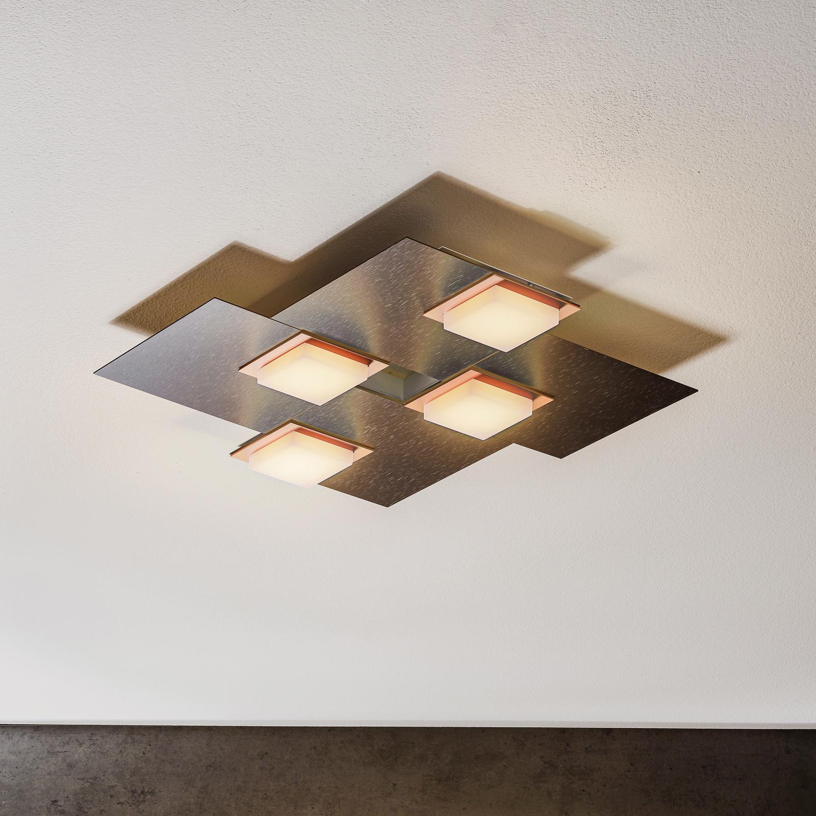 BANKAMP Quadro LED-loftlampe 32 W, antracit