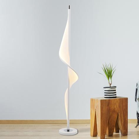 Lampadaire LED Bandera au design ondulé
