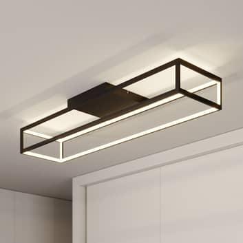 Lucande Byrana plafón LED, rectangular