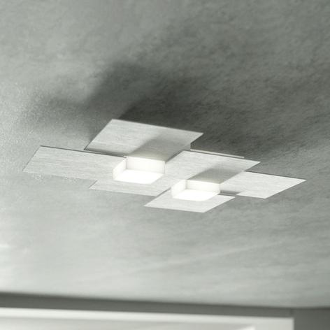 GROSSMANN Creo LED-kattovalaisin 2-lampp.