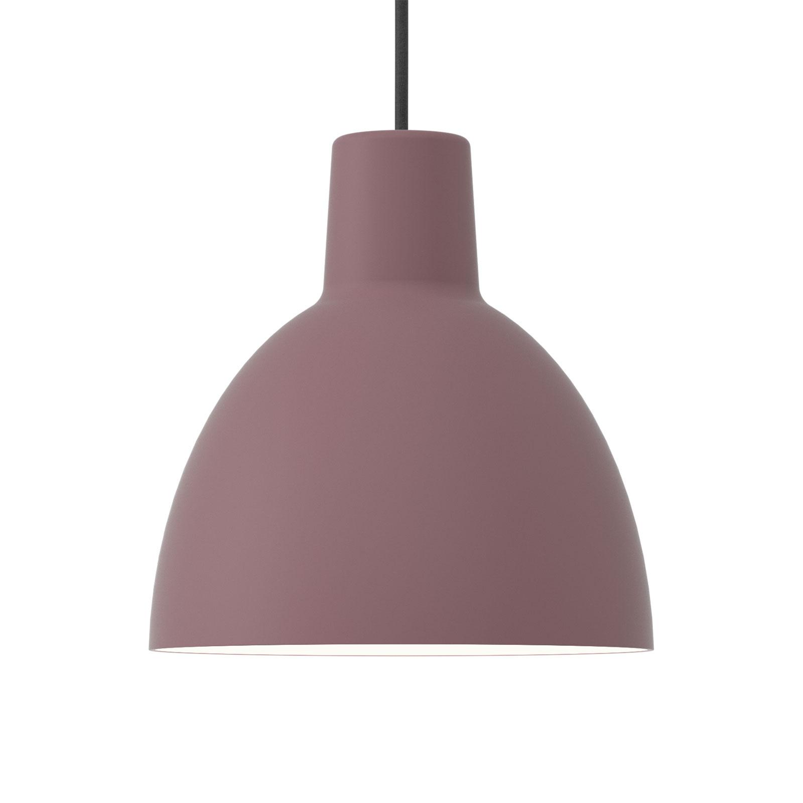Louis Poulsen hanglamp Toldbod 250 donkerroze