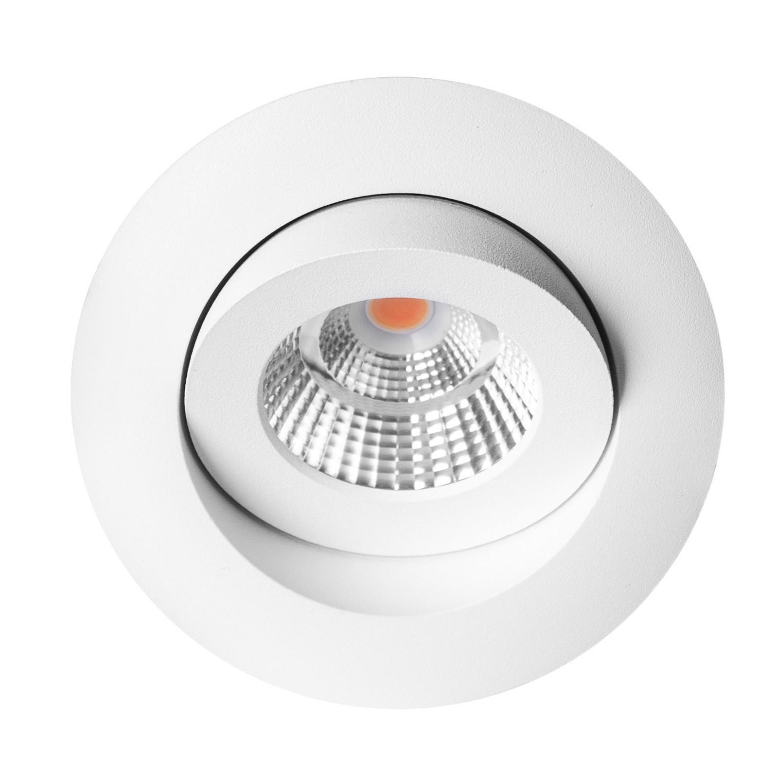 SLC One 360° LED-Einbauleuchte dim-to-warm weiß