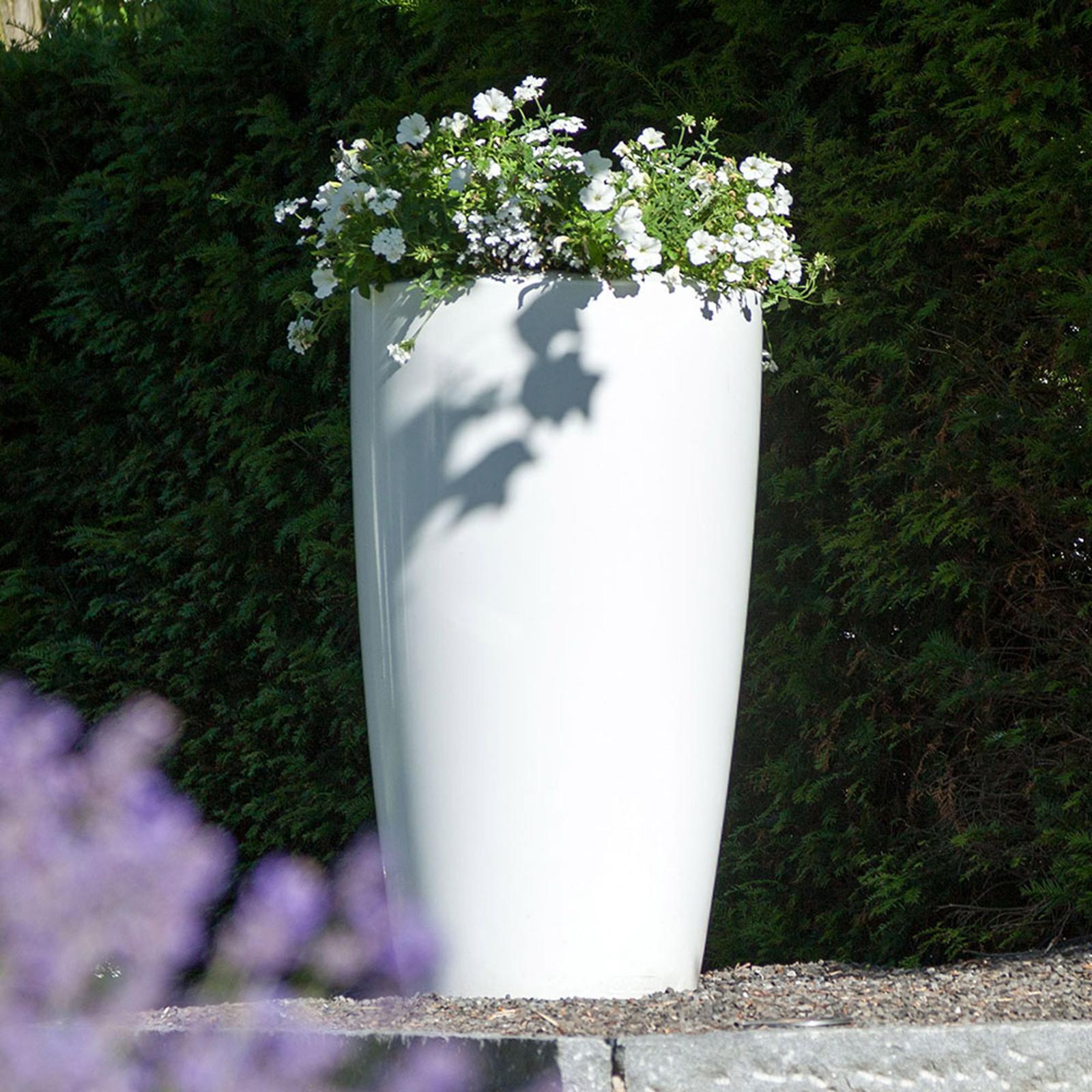 Lampa dekoracyjna Rovio III donica RGB biała