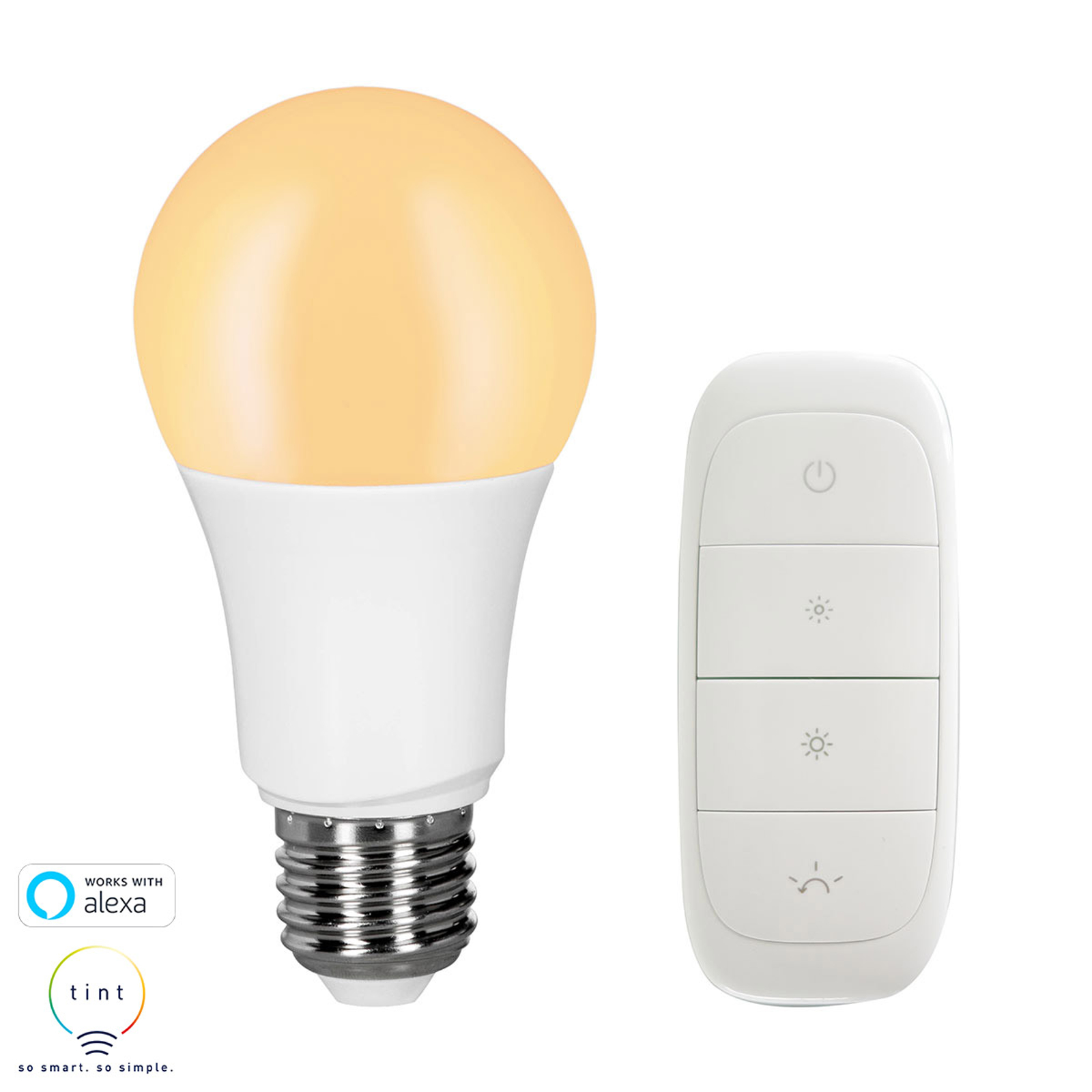 Müller Licht tint dimming LED-Lampe E27 9W+Dimmer