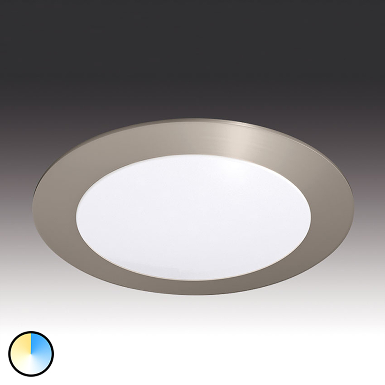 Dynamic FR 68 rund LED-indbygningslampe