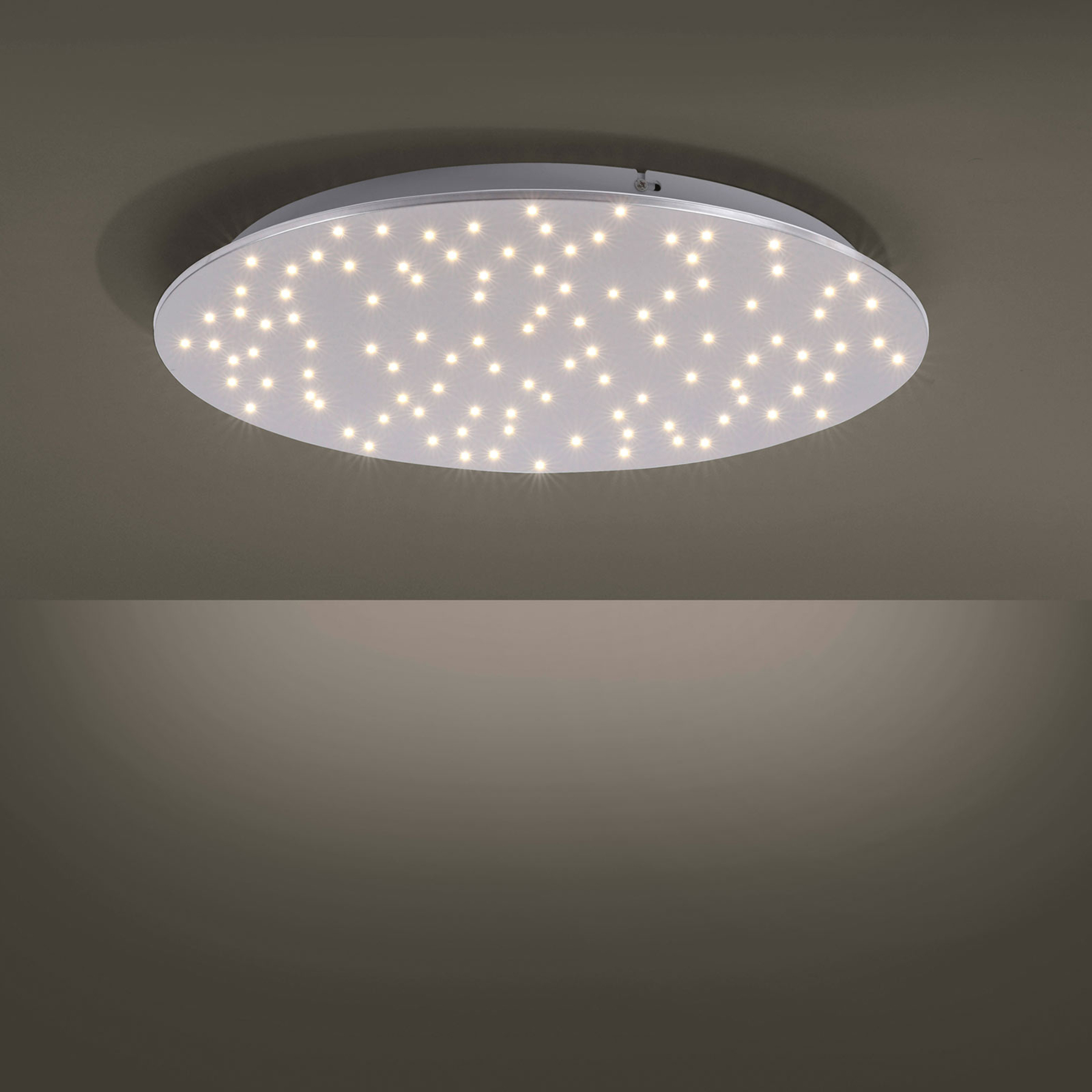 Lampa sufitowa LED Sparkle tunable white, Ø 48 cm