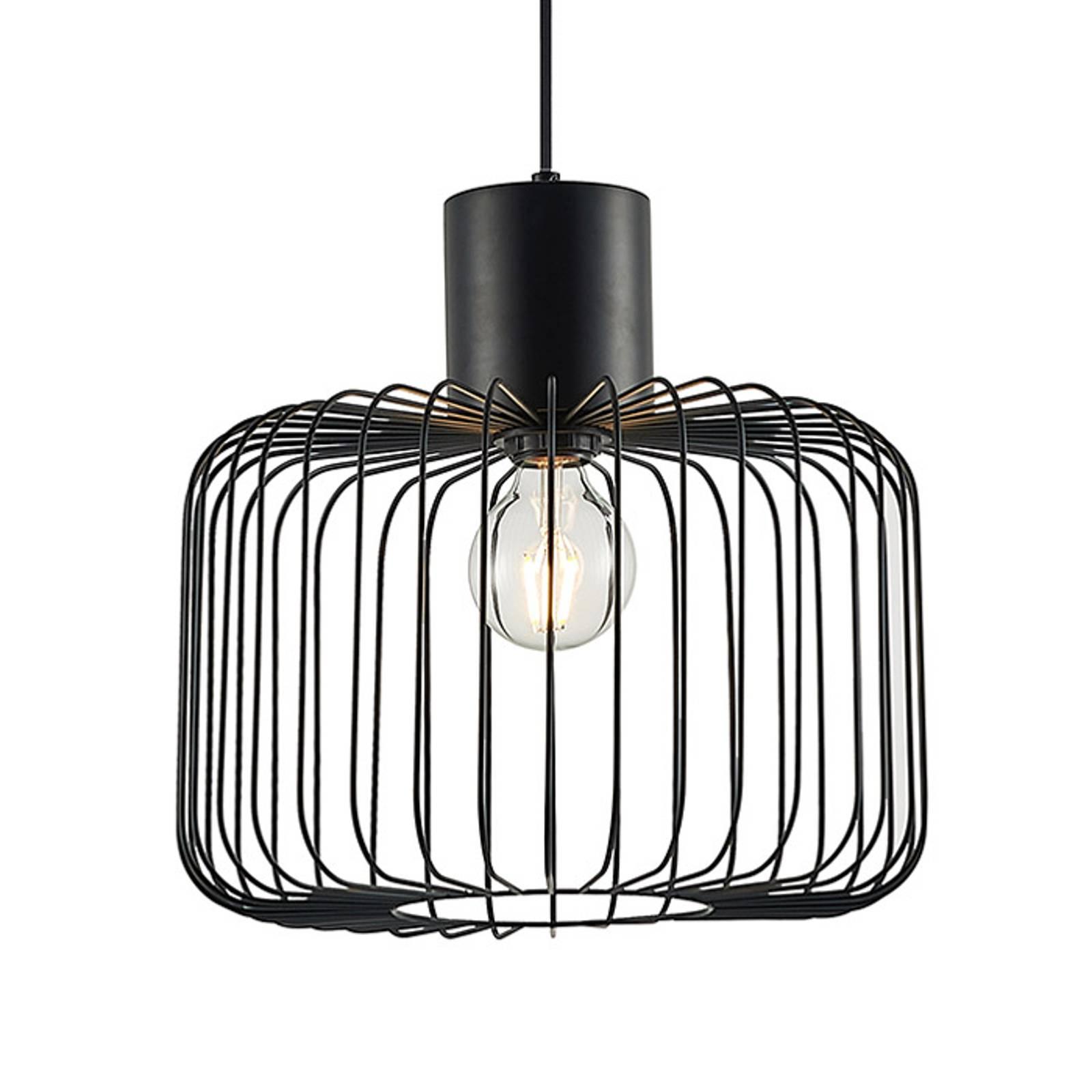 Lindby Lindby Vatiki závesná lampa klietkové tienidlo 1pl