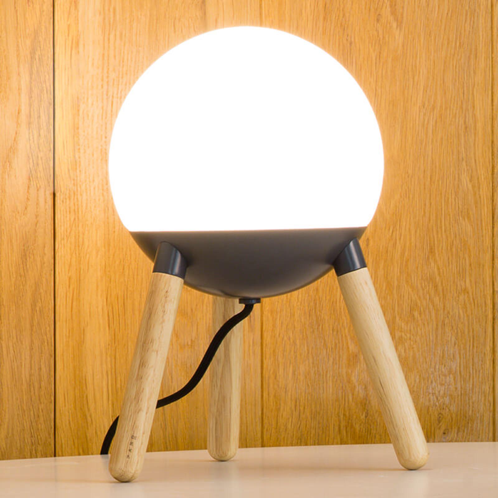 Mine bordlampe 3-benet stel