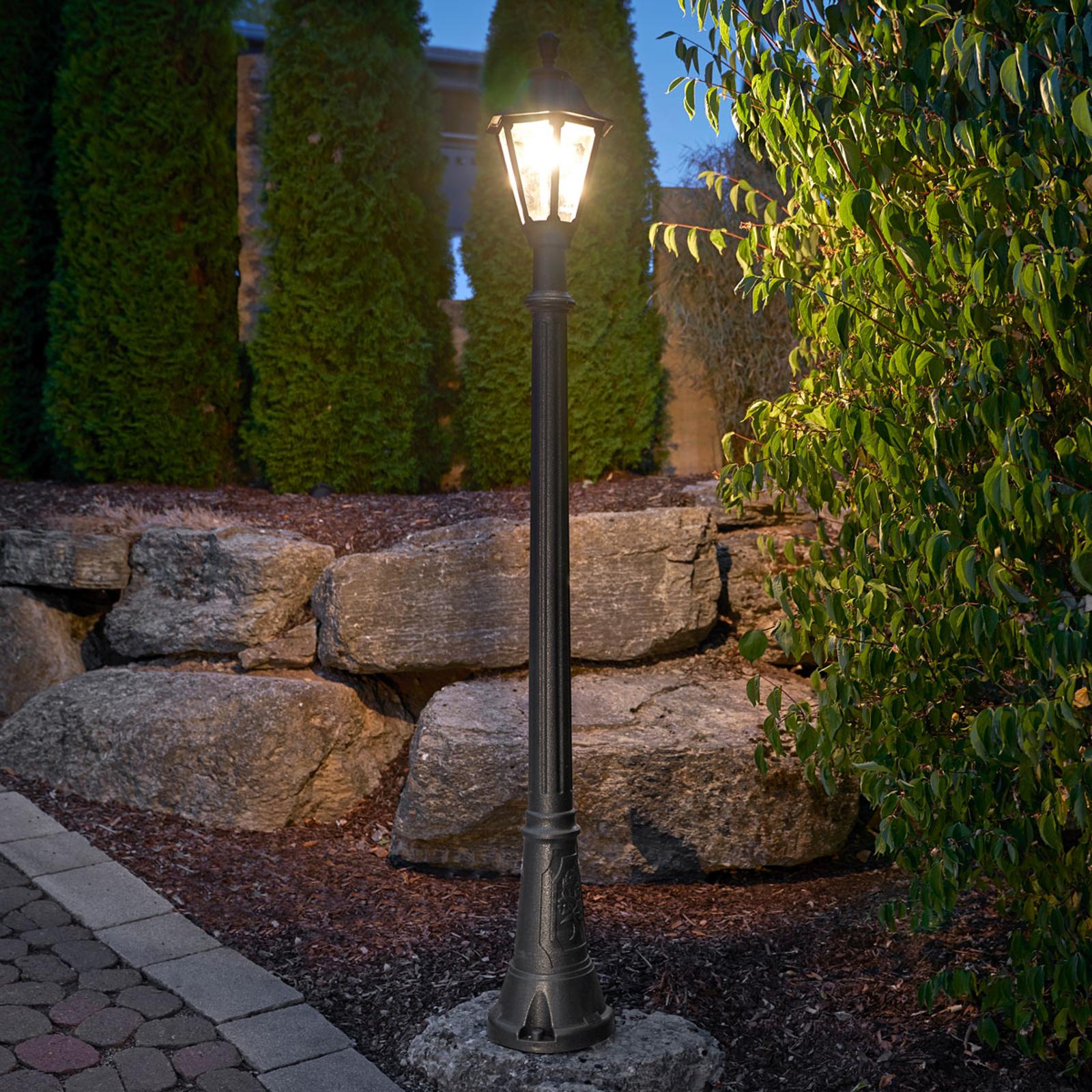 IP55 LED-stolplykta Artu Rut – saltvattenbeständig