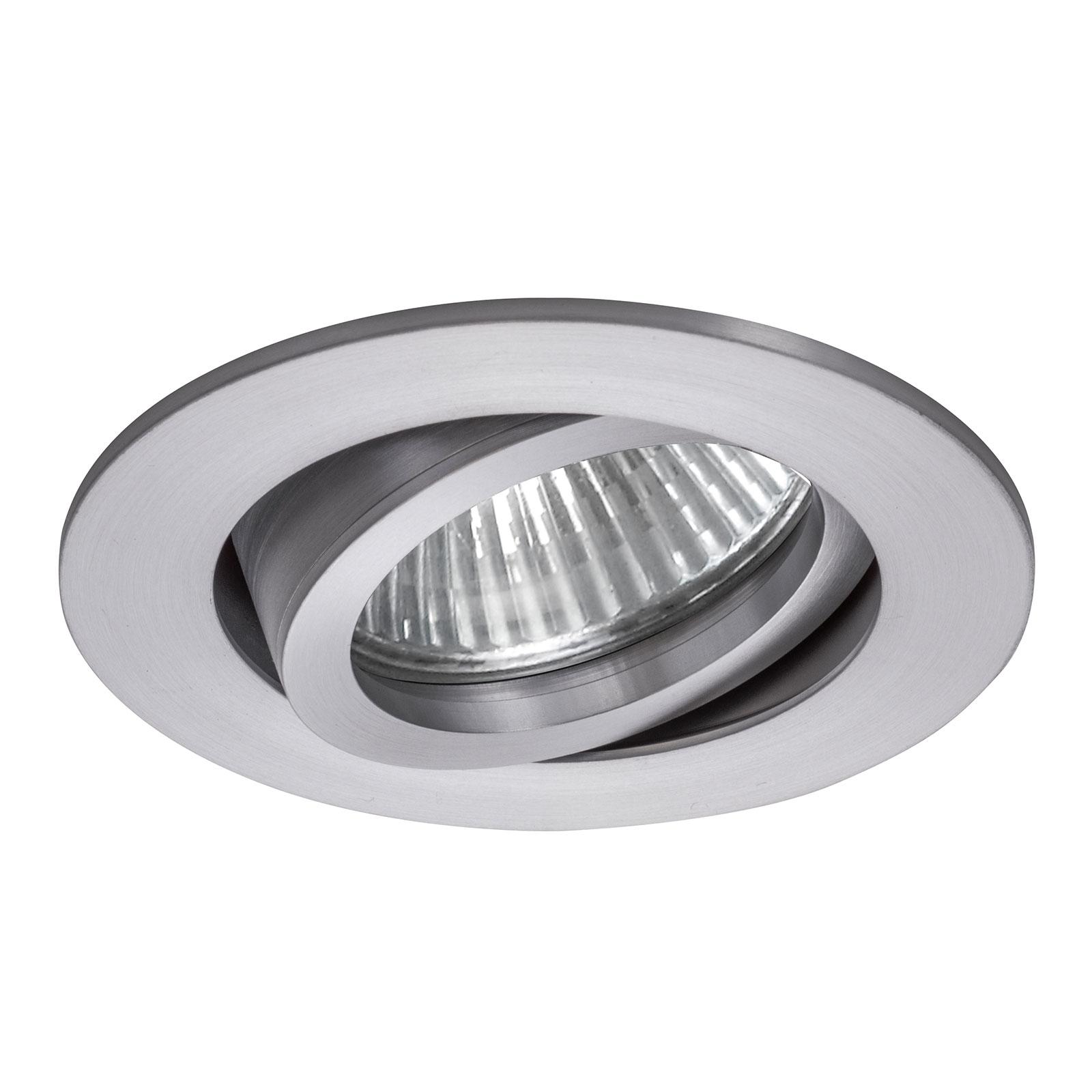 BRUMBERG 0063 Decken-Einbaustrahler rund aluminium