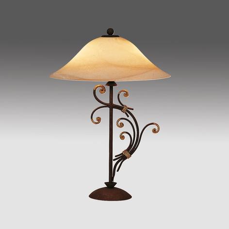 Bordslampa Florence i florentinsk stil