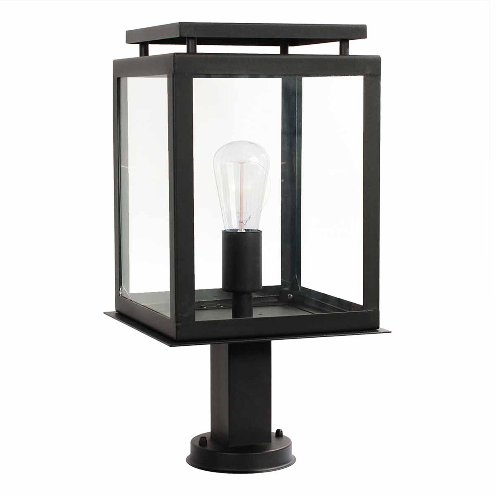 Słupek oświetleniowy de Vecht, czarny, IP44