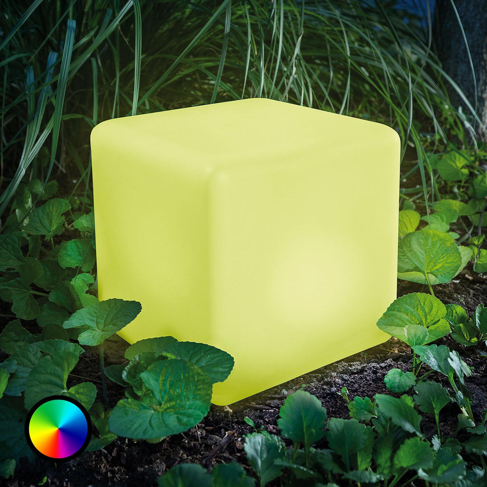 Smart Cube - LED solar cube with colour change_3012563_1