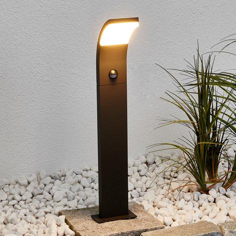 Timm - LED-gatelampe med bevegelsessensor, 60 cm