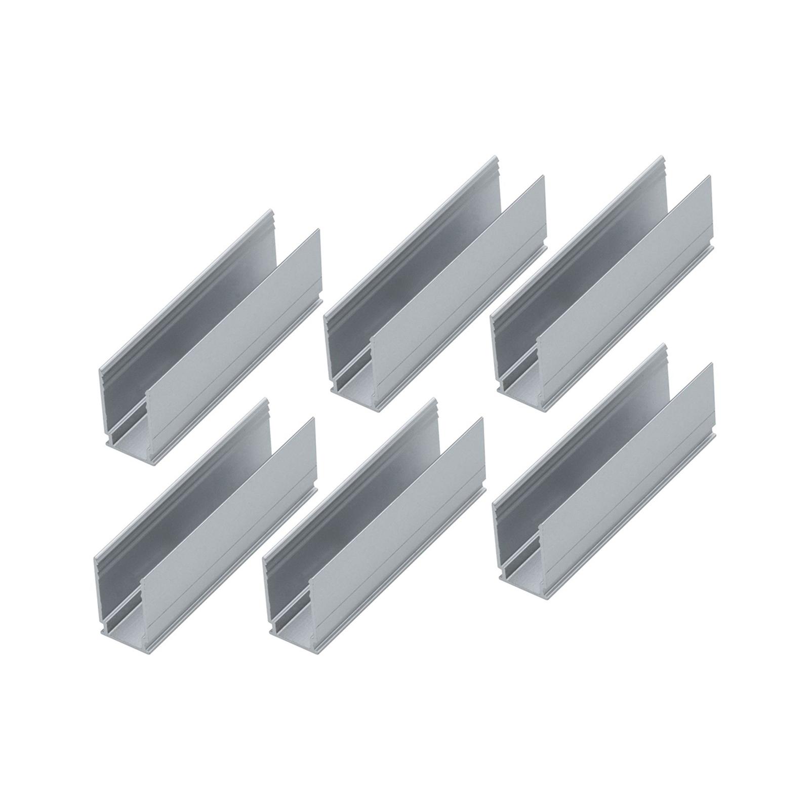 Paulmann 6 Clips 94215, Plug & Shine Neon-Stripe