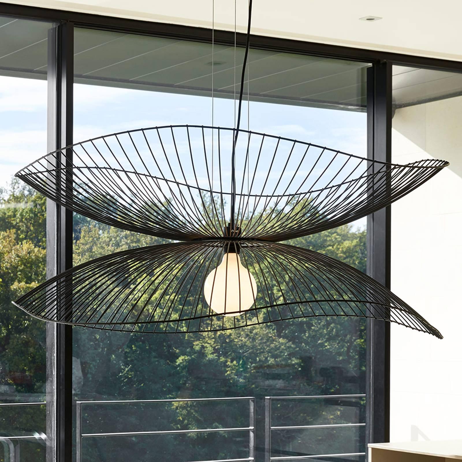 Forestier Libellule L hanglamp, 100 cm, zwart