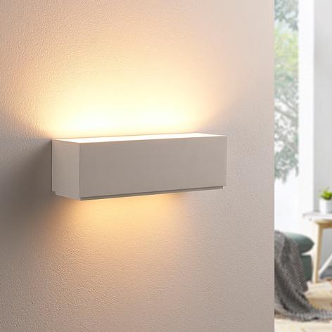 Enkel gipsvegglampe Benno, G9 LED