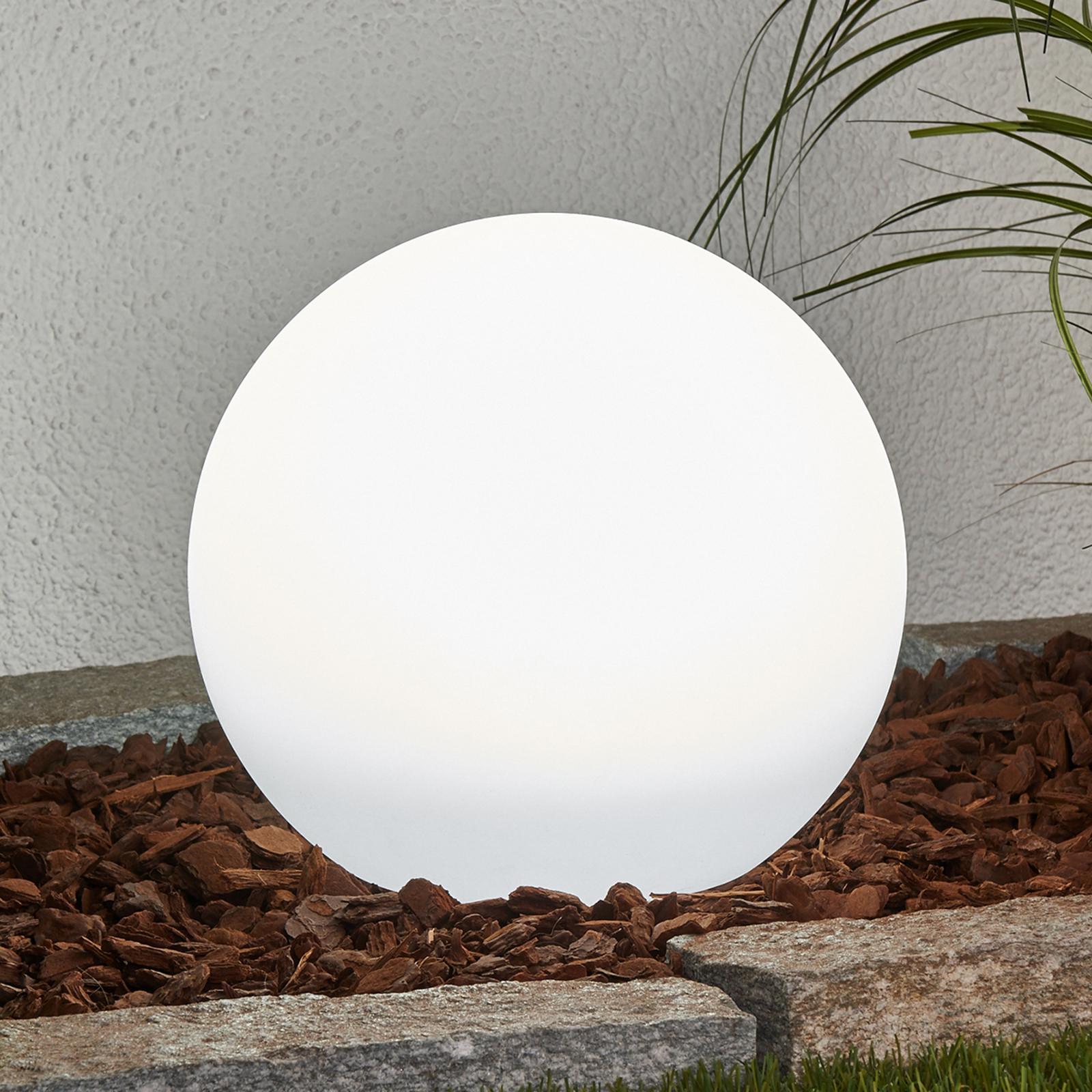 Solarkula med LED-lampor och jordspett