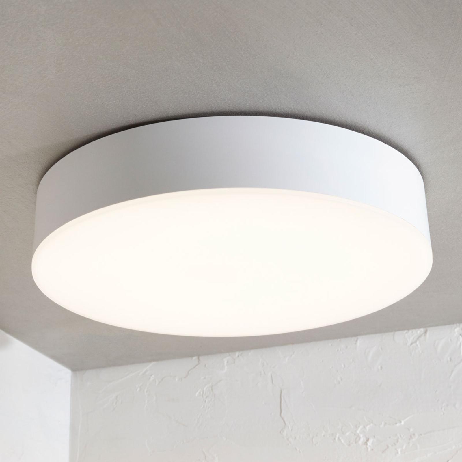 Lampa sufitowa LED Lyam, IP65, biała
